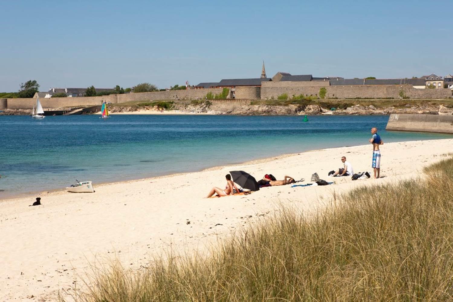 plage-du-Goerem-Gavres-Lorient-Morbihan-Bretagne-sud © Galivel